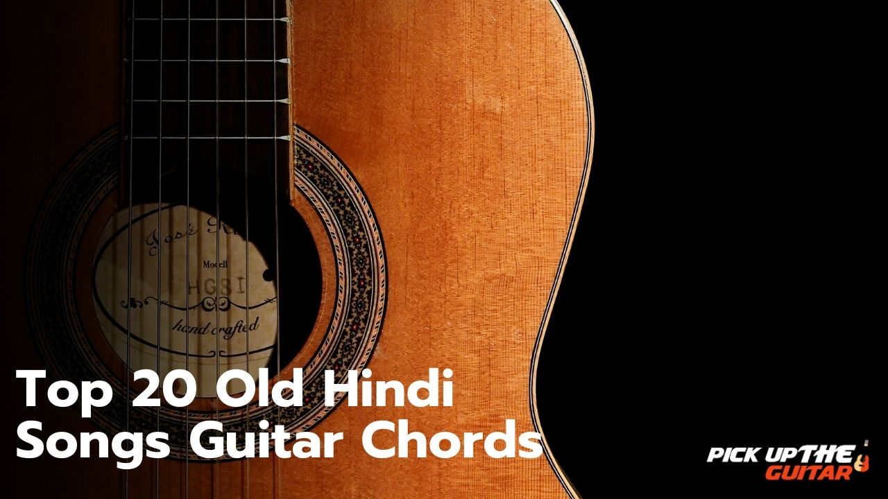 Top 20 Old Hindi Songs Guitar Chords English songs were mostly of avril's because their chord progressions is quite easy and repetetive. top 20 old hindi songs guitar chords