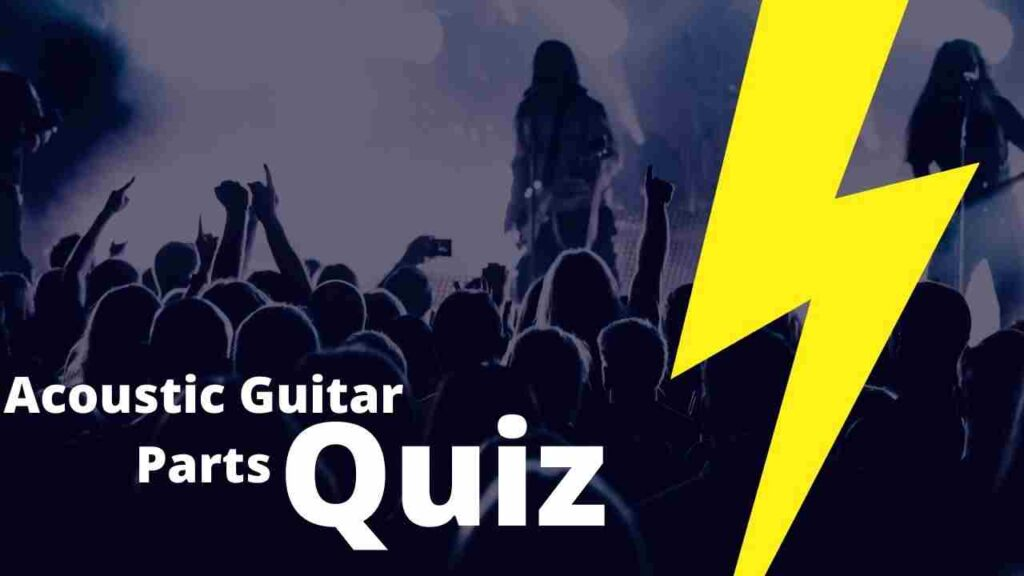 Acoustic Guitar Parts Quiz